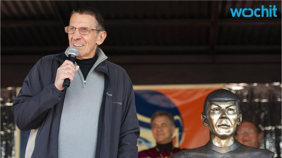 Astronaut Sends Tribute to Spock From Final Frontier